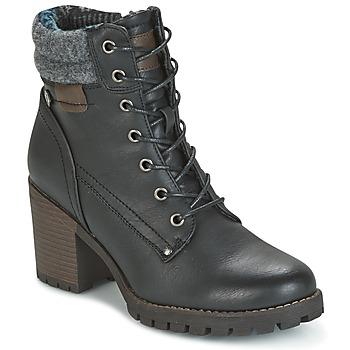 kengät Naiset Nilkkurit Refresh MARVILLE Black
