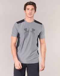 vaatteet Miehet Lyhythihainen t-paita Under Armour UA RAID GRAPHIC SS Grey / Black