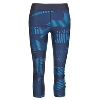 vaatteet Naiset Legginsit Under Armour UA HG ARMOUR GRAPHIC CAPRI Blue
