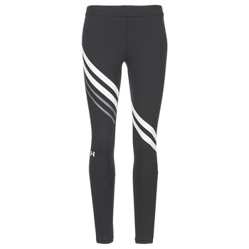 vaatteet Naiset Legginsit Under Armour FAVORITE LEGGING ENGINEERED Black / White