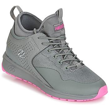 kengät Tytöt Rullakengät Heelys PIPER Grey / Pink