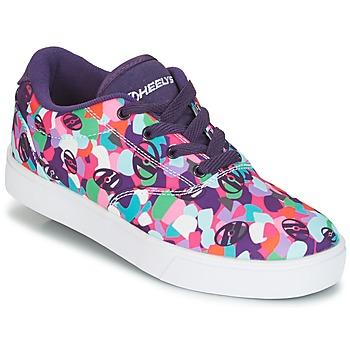 kengät Tytöt Rullakengät Heelys LAUNCH Violet / Multicolour