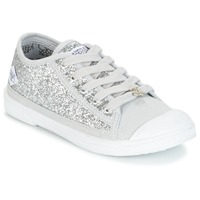 kengät Tytöt Matalavartiset tennarit Le Temps des Cerises BROOK Silver