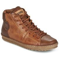 kengät Naiset Korkeavartiset tennarit Pikolinos LAGOS 901 Brown