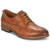kengät Naiset Derby-kengät Pikolinos ROYAL W4D BEIGE