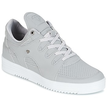 kengät Miehet Matalavartiset tennarit Cash Money STATES Grey / White