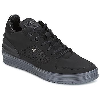 kengät Miehet Matalavartiset tennarit Cash Money STATES Black / Grey