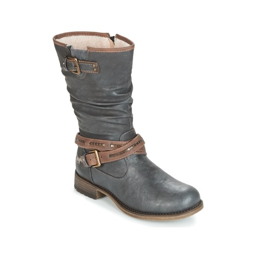 kengät Naiset Saappaat Mustang ISALBA Grey