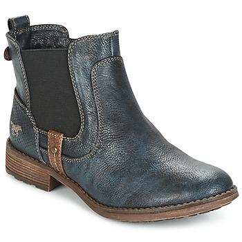 kengät Naiset Bootsit Mustang NANI Laivastonsininen