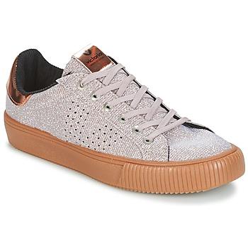 kengät Naiset Matalavartiset tennarit Victoria DEPORTIVO LUREX Grey