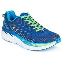 kengät Miehet Juoksukengät / Trail-kengät Hoka one one CLIFTON 4 Blue / Green