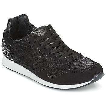 kengät Naiset Matalavartiset tennarit Ippon Vintage RUN VELVET Black