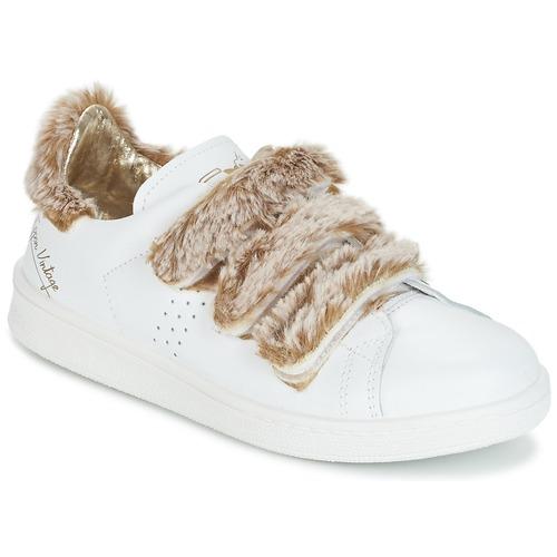 kengät Naiset Matalavartiset tennarit Ippon Vintage FLIGHT POLAR White / Cuivré