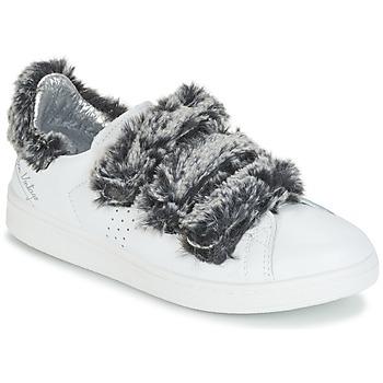 kengät Naiset Matalavartiset tennarit Ippon Vintage FLIGHT POLAR Valkoinen / Harmaa