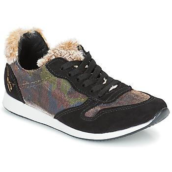 kengät Naiset Matalavartiset tennarit Ippon Vintage RUN SNOW Musta / Cuivré