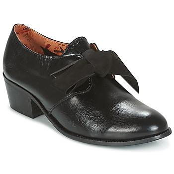 kengät Naiset Derby-kengät Miss L'Fire GINGER Black