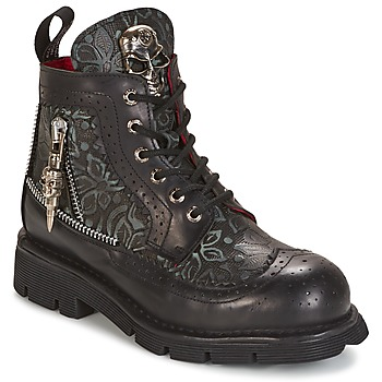 kengät Bootsit New Rock MORTY Black