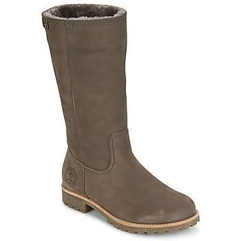 kengät Naiset Saappaat Panama Jack BAMBINA Grey