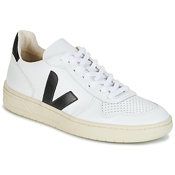 kengät Matalavartiset tennarit Veja V-10 White / Black