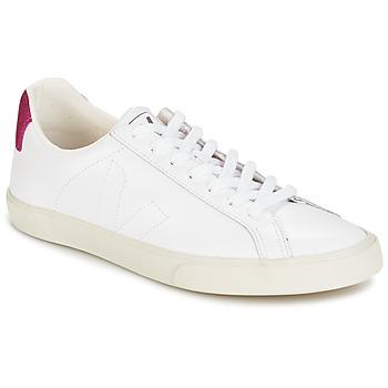 kengät Naiset Matalavartiset tennarit Veja ESPLAR LT White / Paljetti