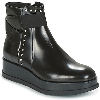 kengät Naiset Bootsit Tosca Blu CIVETTA ABRASIVATO Black