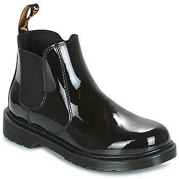 kengät Lapset Bootsit Dr Martens BANZAI Black
