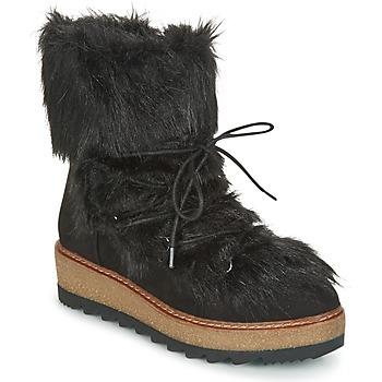 kengät Naiset Talvisaappaat Tamaris LAURIA Black