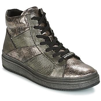 kengät Naiset Korkeavartiset tennarit Tamaris NAPO Grey
