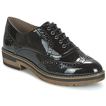 kengät Naiset Derby-kengät Tamaris BETTILA Black