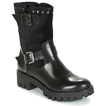 kengät Naiset Bootsit Tamaris BITSY Black