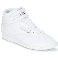 kengät Naiset Matalavartiset tennarit Reebok Classic F/S HI Valkoinen / Hopea