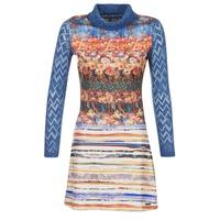 vaatteet Naiset Lyhyt mekko Smash KRIVAN Monivärinen