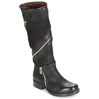 kengät Naiset Saappaat Airstep / A.S.98 SAINT EC ZIP Black