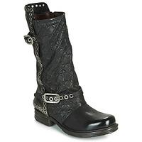 kengät Naiset Saappaat Airstep / A.S.98 SAINT EC BUCKLE Black