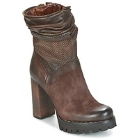 kengät Naiset Nilkkurit Airstep / A.S.98 BLOC ZIP Ruskea