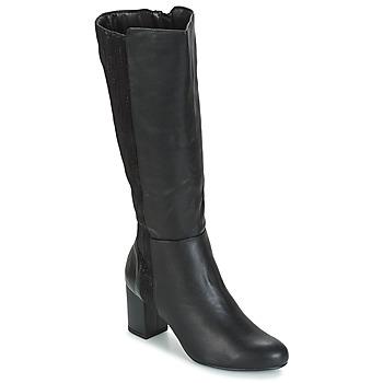 kengät Naiset Saappaat Moony Mood GINA Black