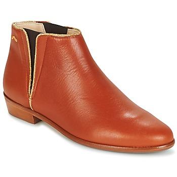 kengät Naiset Bootsit M. Moustache JEANNE.B COGNAC / Gold