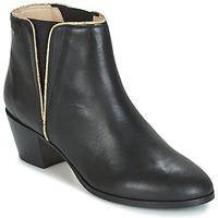 kengät Naiset Nilkkurit M. Moustache JEANNE.M Black / Gold