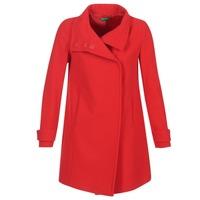 vaatteet Naiset Paksu takki Benetton MERCRA Red