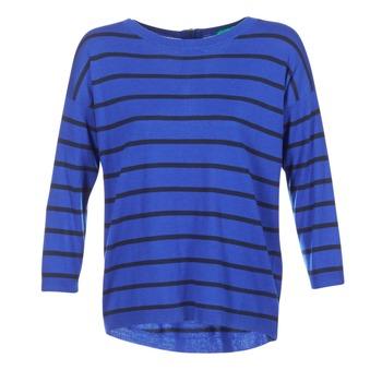 vaatteet Naiset Neulepusero Benetton MIDIC Blue