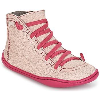 kengät Tytöt Korkeavartiset tennarit Camper PEU CAMI Pink