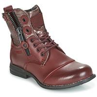 kengät Naiset Bootsit Bunker SARA BORDEAUX