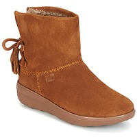 kengät Naiset Nilkkurit FitFlop MUKLUK SHORTY II BOOTS  WITH TASSELS Chestnut