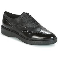 kengät Naiset Derby-kengät Geox D PRESTYN Black