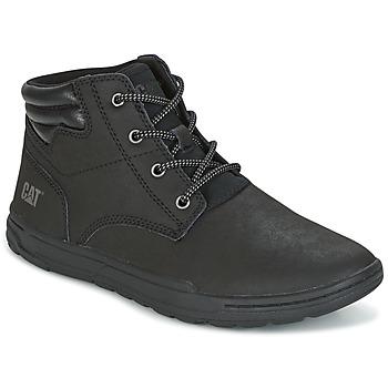 kengät Miehet Korkeavartiset tennarit Caterpillar CREEDENCE Black