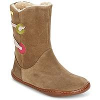 kengät Tytöt Bootsit Camper TWS Brown