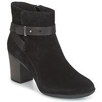 kengät Naiset Derby-kengät Clarks ENFIELD SARI Musta / Mokka