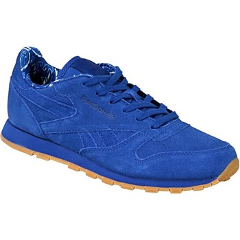kengät Lapset Tennarit Reebok Sport Classic Leather TDC  BD5052 Blue