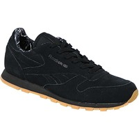 kengät Lapset Tennarit Reebok Sport Classic Leather TDC  BD5049 Black