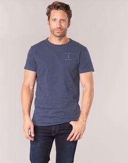 vaatteet Miehet Lyhythihainen t-paita Hackett JODA Laivastonsininen